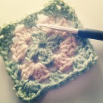 granny square bicolore